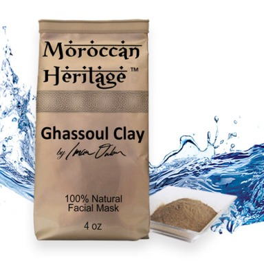 Rhassoul Clay (Ghassoul) Facial Mask